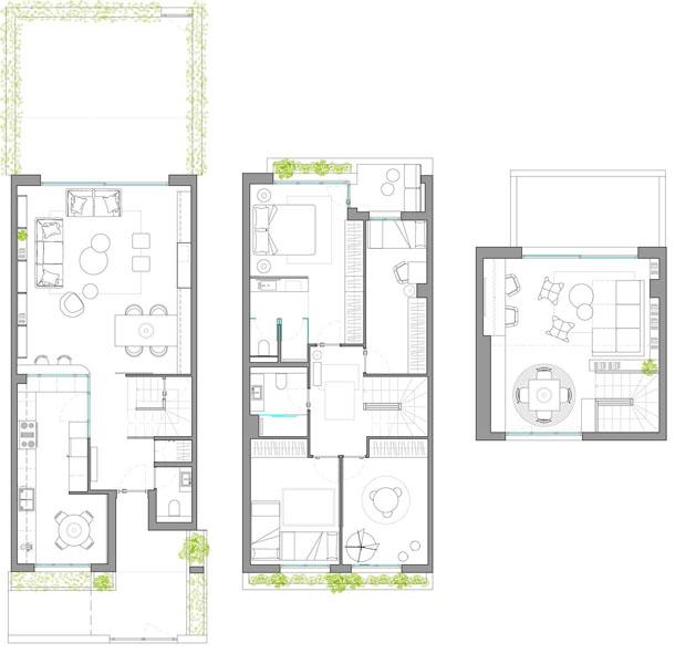 پلان بازسازی طبقات خانه