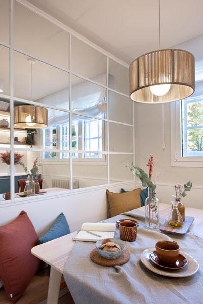 طراحی کنج آشپزخانه بعد از بازسازی خانه